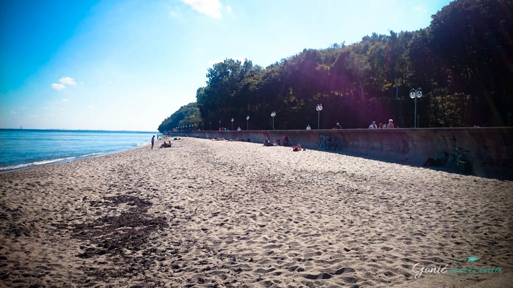 plaża, bulwar nadmorski
