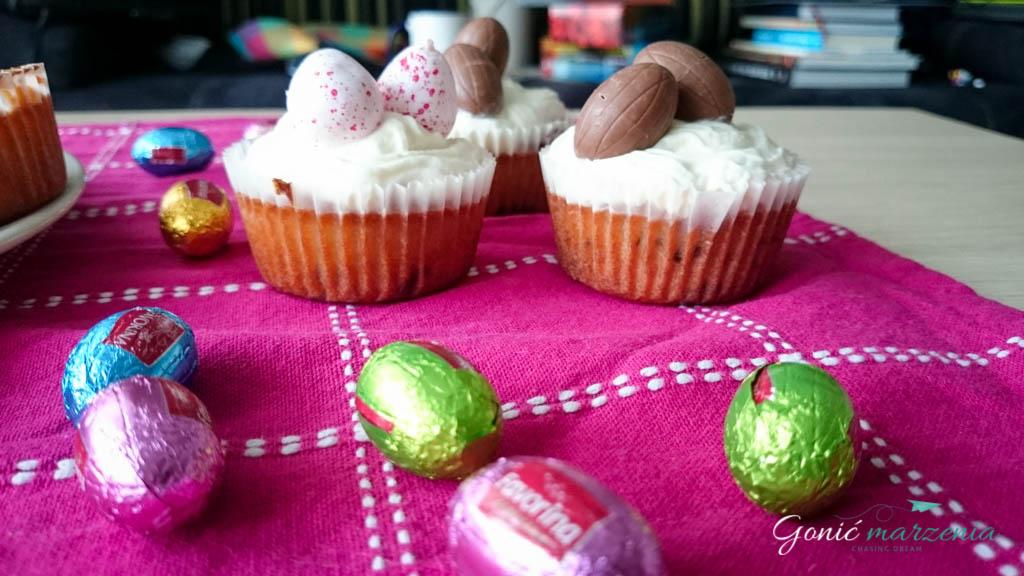Muffinki z czekoladą Gonić Marzenia blog
