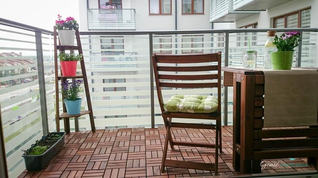Pomysł Na Balkon Z Ikea Gonić Marzenia