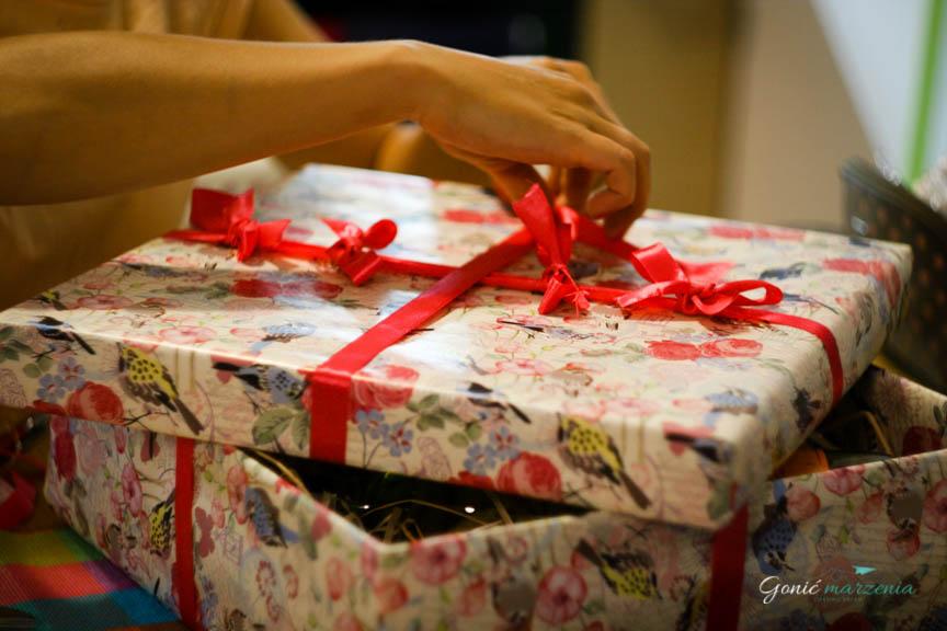 DIY pudełko Gonić Marzenia