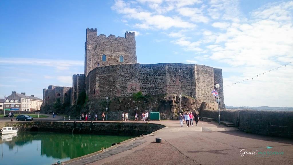 Carrickfergus castle Gonić Marzenia
