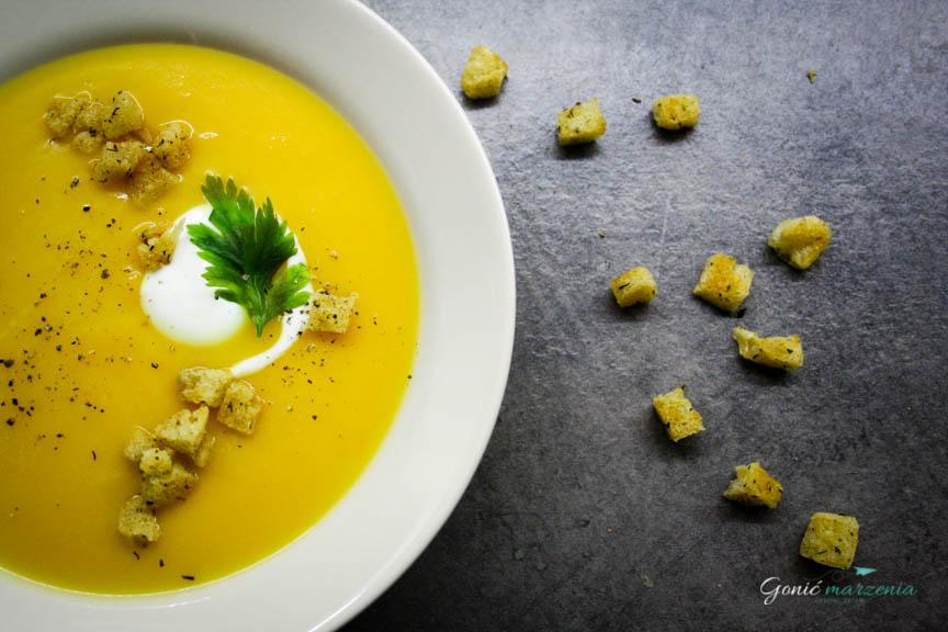 Zupa krem z dyni Gonić Marzenia