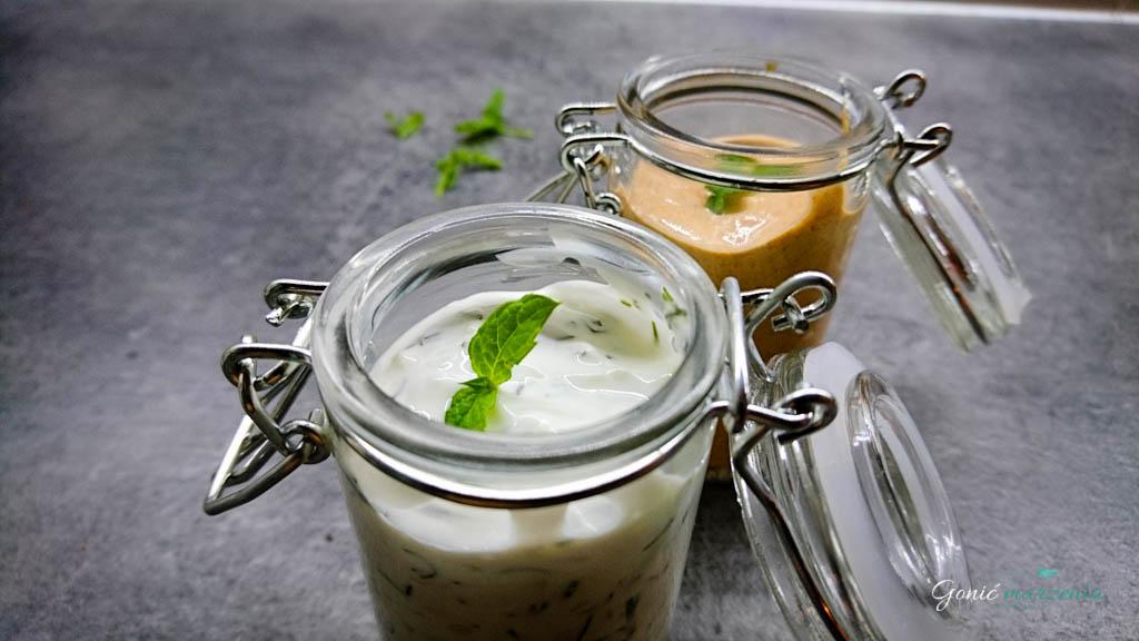 sosy na bazie jogurtu naturalnego