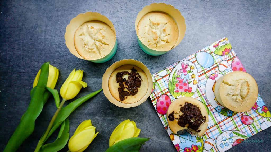 muffinki bezglutenu i bez nabiału