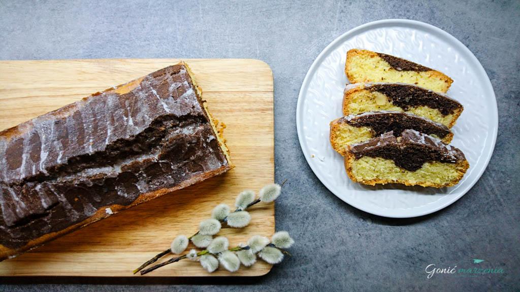 Bezglutenowa babka piaskowa cytrynowo czekoladowa