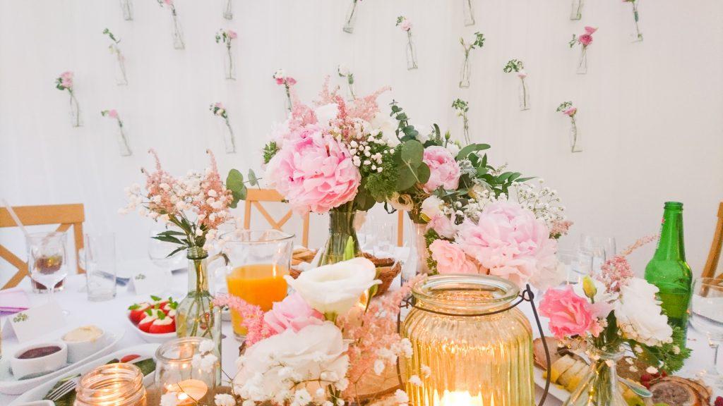 Pastelowy wystój ślubny Gonić Marzenia