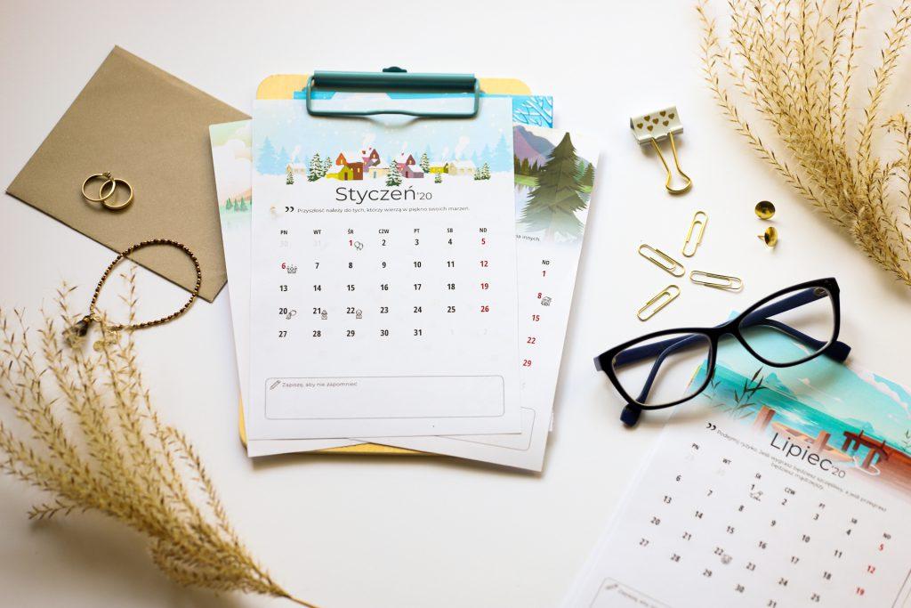 Kalendarz 2020 Gonić Marzenia
